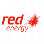 Red Energy logo. Red Energy is a supplier of energy products to ElectricityBrokers
