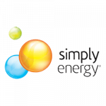Simply Energy logo. Simply Energy is a supplier of energy products to ElectricityBrokers