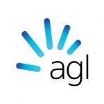 AGL logo. AGL is a supplier of energy products to ElectricityBrokers