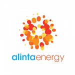 Alinta Energy logo. Alinta Energy is a supplier of energy products to ElectricityBrokers