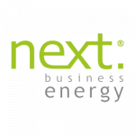 Next Business Energy logo. Next Business Energy is a supplier of energy products to ElectricityBrokers
