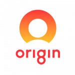 logo for Origin Energy. Origin Energy is a supplier of energy products to ElectricityBrokers